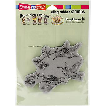 Stampendous House Mouse Cling stempel 6.5