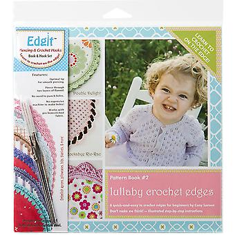 Edgit Piercing Crochet Hook & Book Set-Lullaby Crochet Edges