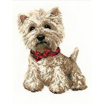 West Highland White Counted Cross Stitch Kit-8