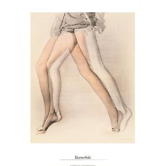 Legs New York 1944 Poster Print by Erwin Blumenfeld (24 x 32)
