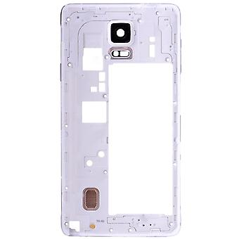 White Rear Housing For Samsung Galaxy Note 4