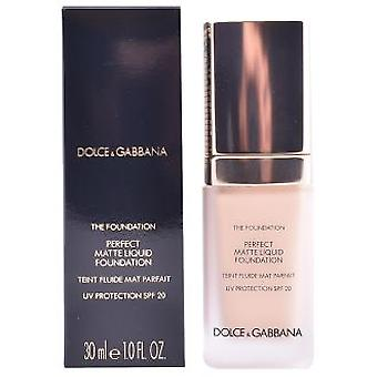 Dolce & Gabbana The Foundation Perfect Matte Liquid Spf20 30 ml (Make-up , Face , Bases)
