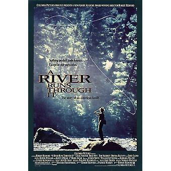 A River Runs Through It Movie Poster (11 x 17)
