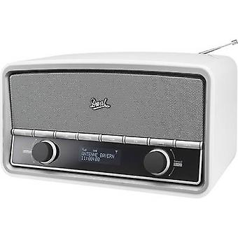 Dobbel NR 5 DAB bordplaten radio AUX, Bluetooth, DAB, FM White (glanset)