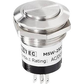 Renkforce 1227544 campana botón 1 acero inoxidable x 24 V/1 A