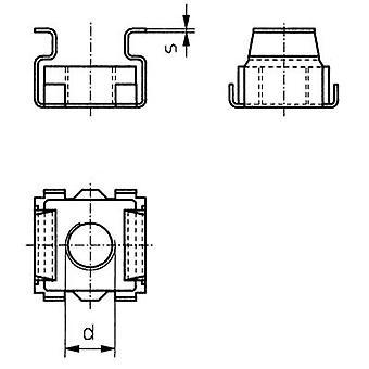 TOOLCRAFT 521810 bur nøtter M5 stål 10 eller flere PCer