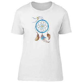Blue Dream Catcher Illustration Tee Women's -Image by Shutterstock