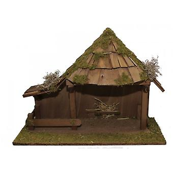 Nativity ORIENT wooden Manger Nativity Christmas Nativity stable