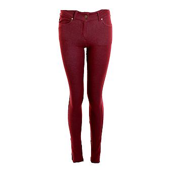Neue Damen-Skinny Fit farbige Stretch Jeans Womens Jeggings