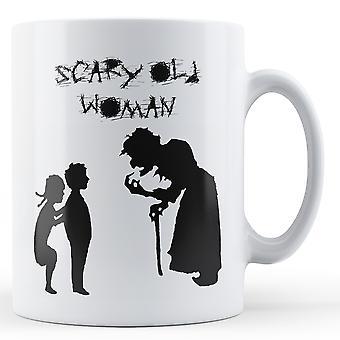 Effrayant vieille femme - Mug imprimé