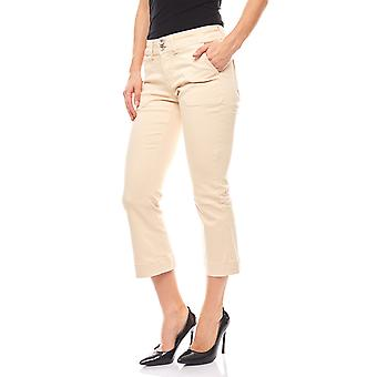 B.C.. best connections casual 7/8 women's pants white