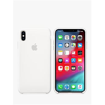 Apple iPhone XS Max Silicone Case - wit