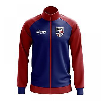 Dominican Republic Concept Football Track Jacket (Blue) - Kids