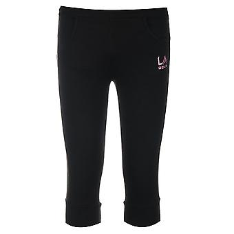 LA Gear Kids Junior Girls Three Quarter Jogging Pants Trousers Bottoms Clothing