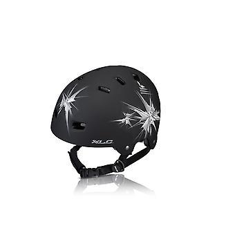 XLC-bra-C22 (urban) bike helmet / / matte black (spikes)