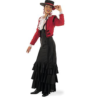 Cordobesa Spanish flamenco dancer ladies costume Spain Spanish