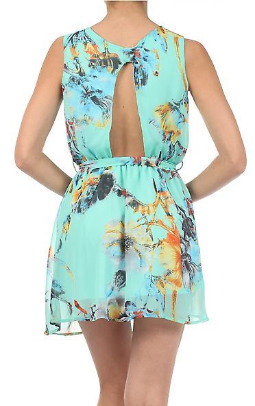 Waooh - Fashion - Short dress flower pattern