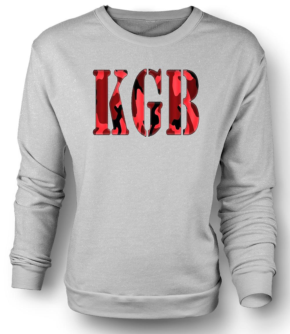 Mens Sweatshirt KGB - russiske intelligens