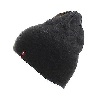 Levis Dark Grey Otis Beanie