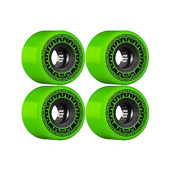 Knochen grüne Rough Riders Tank - 59mm-Skateboard-Rollen