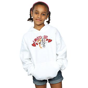 Looney Tunes Girls Bugs Bunny And Lola Valentine's Day Loved Up Hoodie