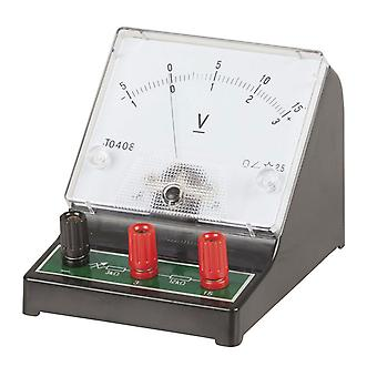 TechBrands Analogue Bench Voltmeter 0-15V
