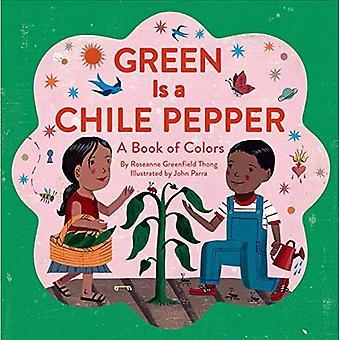 Green est un piment Chili