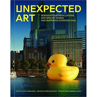 Art inattendu: Installations heureux hasard, des œuvres et Interventions surprenantes