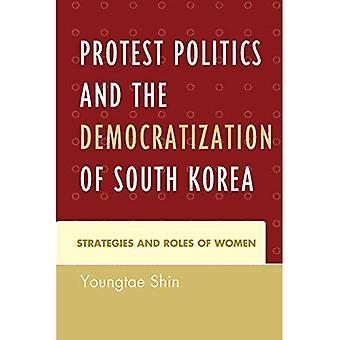 Protester contre la politique et la démocratisation de la Corée du Sud: stratégies et rôle des femmes