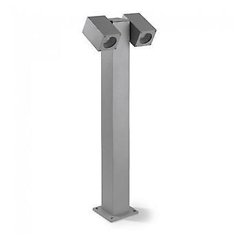 Colonna di ormeggio di Icaro regolabile doppia lampada all'aperto - Leds-C4 55-9190-34-37