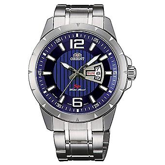 Orient men's Quartz analogue watch with stainless steel band FUG1X004D9
