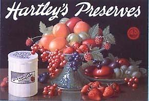 Hartleys Preserves Metal Fridge Magnet