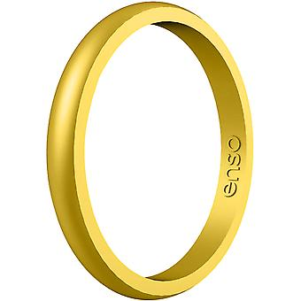 Enso Ringe Halo Elemente Serie Silikon-Ring - Gold