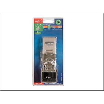 35/45 38MM PADLOCK & MINICLAMP SET