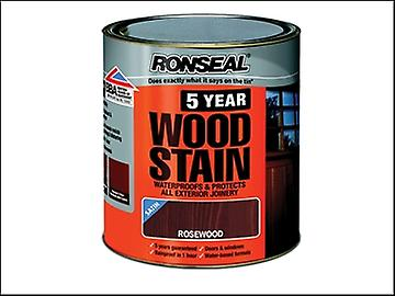 Ronseal 5 Year Woodstain Rose 2.5 Litre