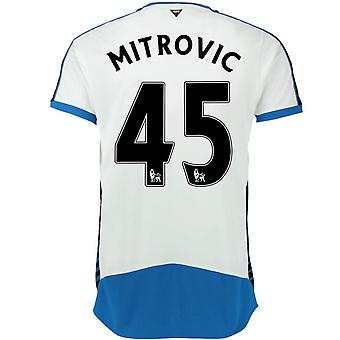 2015-16 Newcastle hem skjorta (Mitrovic 45) - barn