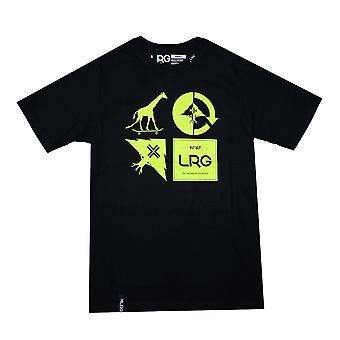Lrg RC Logo Mash Up T-shirt Black Green