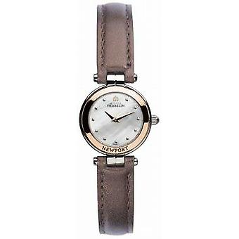 Michel Herbelin Womens Newport Yacht Club Mini 17455/TR19BR Watch
