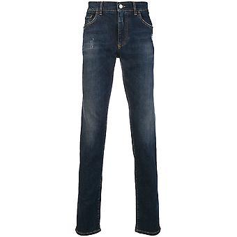 Dolce E Gabbana blå bomuld Jeans