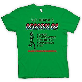 Womens T-shirt - Daley Thomspons - Decathlon - Arcade - C64 - 48K Game