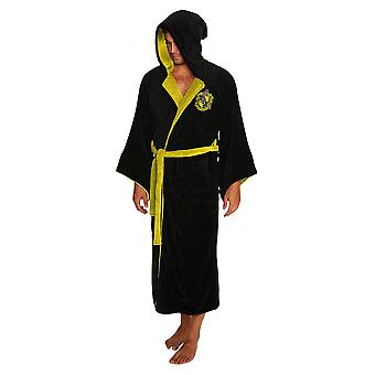 Harry Potter Hufflepuff Wizard Fleece Dressing Gown