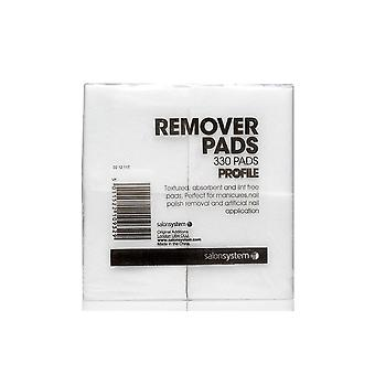 Gellux Profile Professional Gel Nail Treatments - Lint Free Remover Pads (330 Pieces) (0212117)