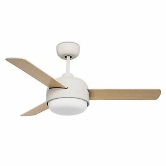 2 ventilateur de plafond léger vieux blanc