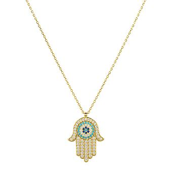 Hamsa Hand with Evil Eye Pendant Necklace Gold Gemstone Charm Chain Silver 925 Hamsa Hand with Evil Eye Pendant Necklace Gold Gemstone Charm Chain Silver 925 Hamsa Hand with Evil Eye Pendant Necklace Gold Gemstone Charm Chain Silver 925 Hams