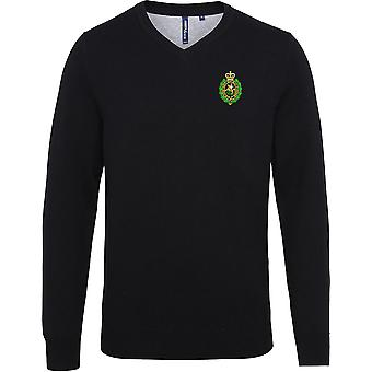 Royal Regiment Of Fusiliers Crest - Licensed British Army Embroidered Jumper