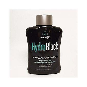 Hempz Hydro Black 50x Dark Bronzer Moisturising Creme Skin Tanning Lotion 400ml