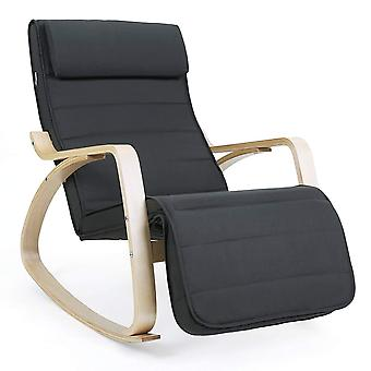 Rocking chair with adjustable footrest
