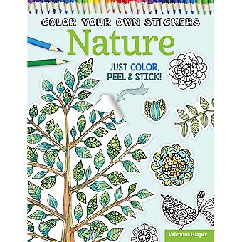 Design Originals-Color Your Own Sticker Nature DO-5590