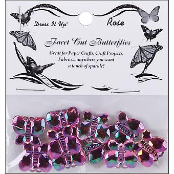 Dress It Up Embellishments Bling Butterfly Diubtn 4878
