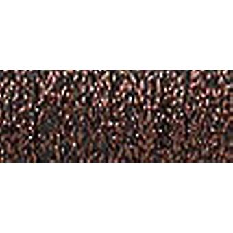 Kreinik Fine Metallic Braid #8 10 Meter 11 Yards Brown F 022
